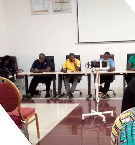 Rencontre bilan de l'année académique 2019-2020 de l'administration avec les délégués de classes.