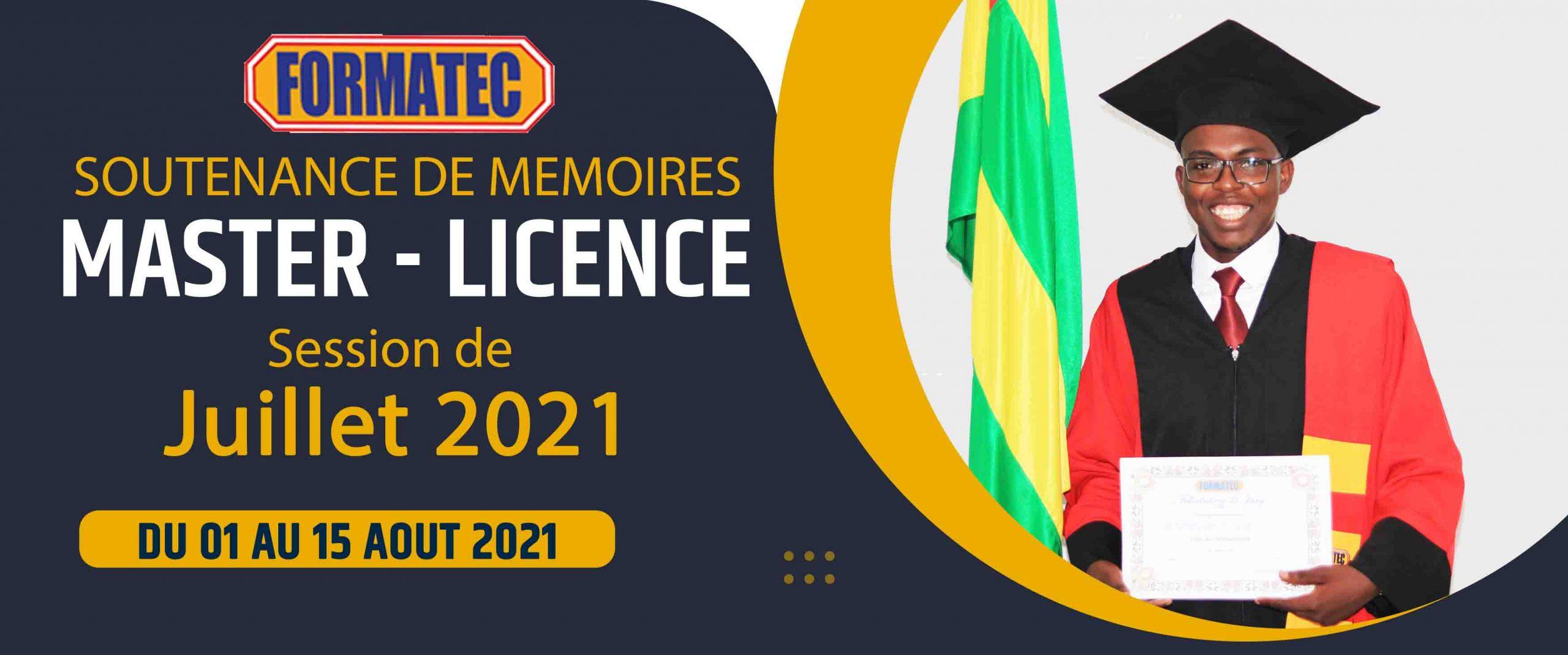 SOUTENANCE SESSION JUILLET 2021
